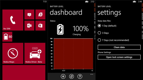 Battery Level for WP8 - Windows Phone - $0.99