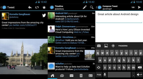 Echofon Pro for Twitter - Android - Free