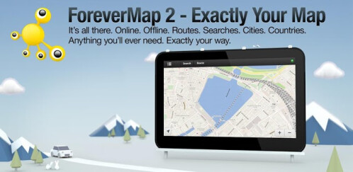 ForeverMap 2 - Android (tablets) - Free
