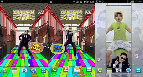 PSY Gangnam Style Live Wallpaper and Tone - Android - $1.99