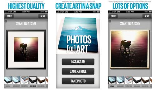 Photos to Art - iOS - Free