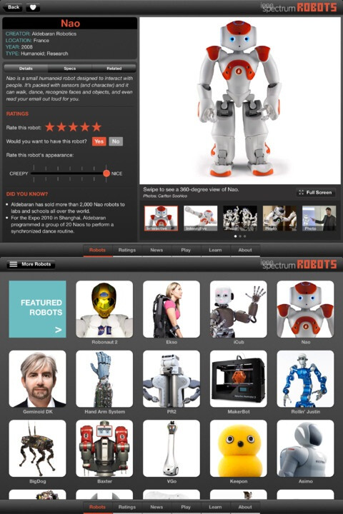 Robots for iPad - $4.99