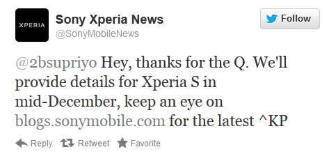 Sony Xperia S owners will know the fate of the Android 4.1 update on the device by the middle of this month - Sony Xperia S to learn its fate this month about update to Android 4.1
