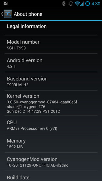 Galaxy S III to get Android 4.2.1 soon, courtesy of CyanogenMod