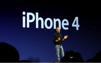 Steve Jobs introduces the Apple iPhone 4