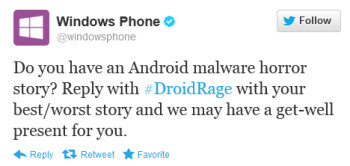 If malware caused your Droid Rage, Microsoft wants to hear about it