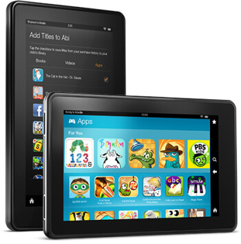 Time Limit (L) lets you control your kid's usage of the Amazon Kindle Fire tablet