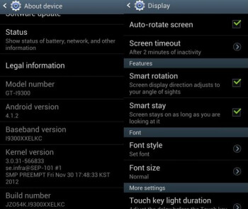 Android 4.1.2 starts to roll out for the GT-i9300