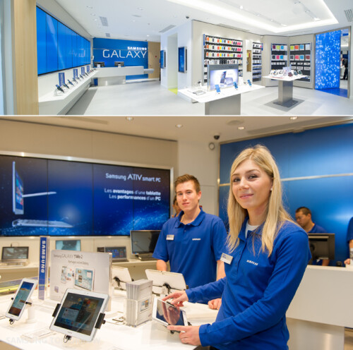 First �Samsung Mobile Store� opens doors in Paris