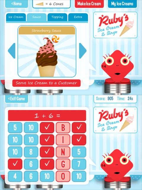 Squeebles Maths Bingo - iOS - $0.99