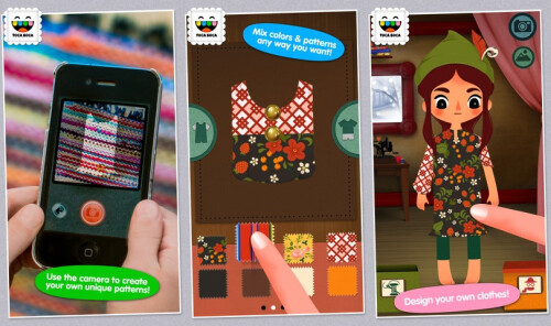 Toca Tailor Fairy Tales - iOS - Free