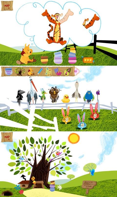 Winnie the Pooh Wonder and Wander - iOS - Free