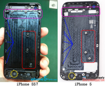 Internets go crazy for (probably fake) pics of the iPhone 5S