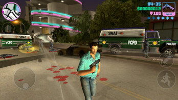 Grand Theft Auto Vice City is available on the Apple App Store