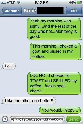 11 funniest auto-corrected text messages for 2012