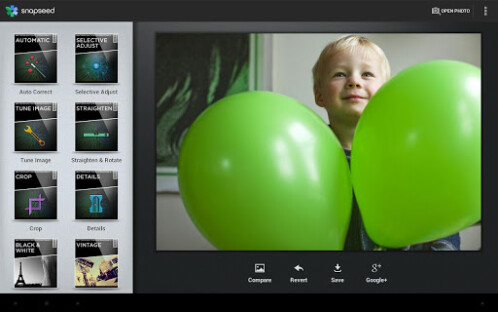 SnapSeed for Android