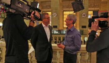 Apple CEO Tim Cook, interviewed for Rock Center