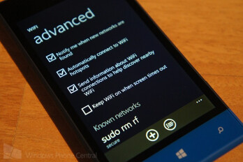 Wi-Fi options will expand with an upcoming update to Windows Phone 8.