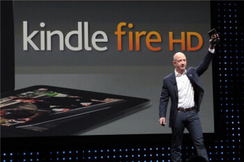 Jeff Bezos introduces the Amazon Kindle Fire HD