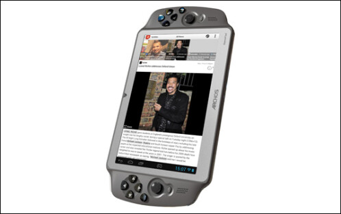 The Archos GamePad is an Android tablet with physical buttons. Now available in Europe