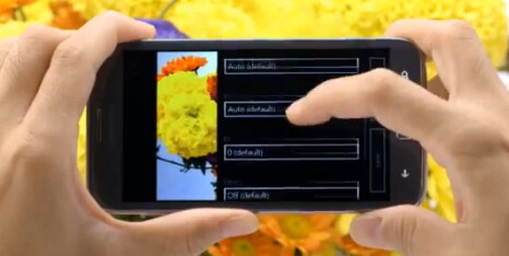 The Samsung ATIV S has advanced camera settings for the more serious photographer - Samsung shows off the Samsung ATIV S in two new videos