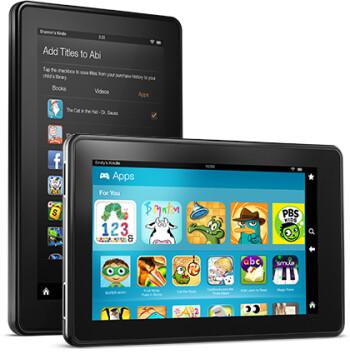 The Amazon Kindle Fire HD
