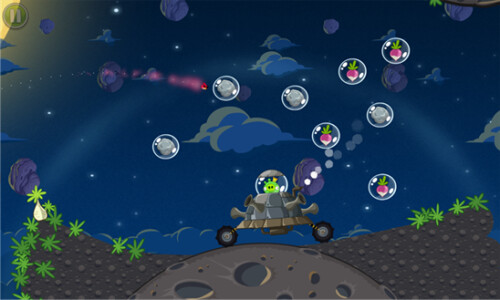 Angry Birds Space for Windows Phone 7