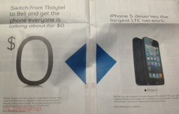 Bell's two ads targeting Tbaytel customers