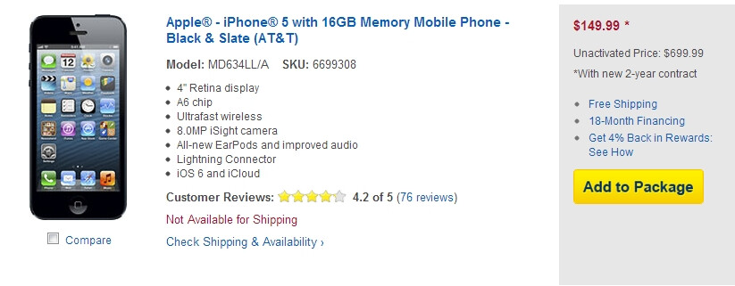 Best Buy teams with Santa, offers $50 discount on all iPhone 5 versions