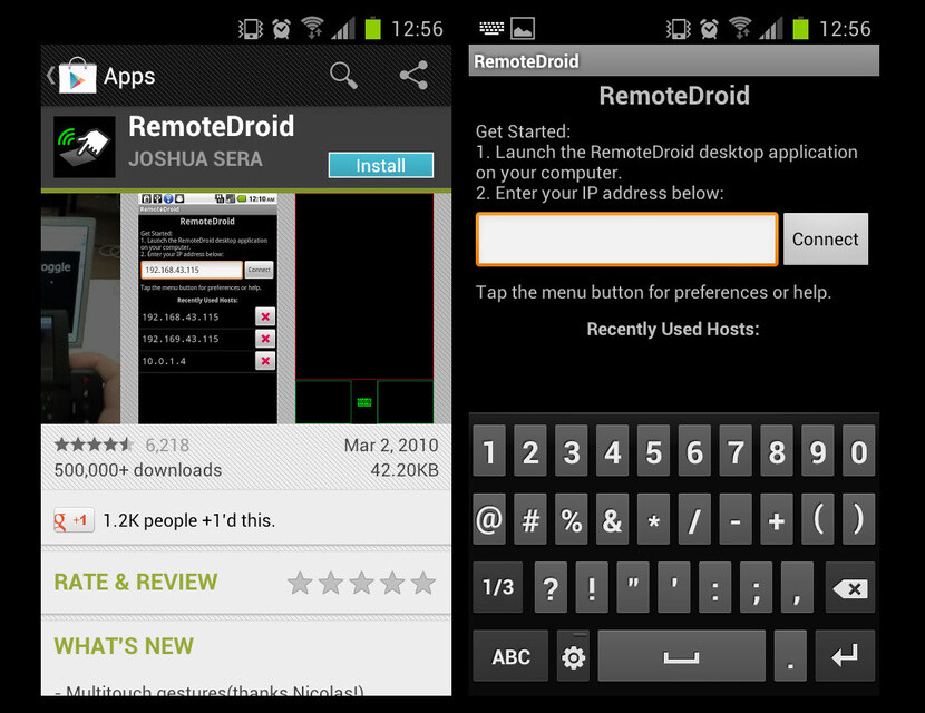 Sony tv remote keyboard application