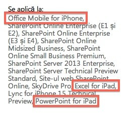 Microsoft's French support site hints at Office for iOS - Leaks show Microsoft Office for iOS is coming soon