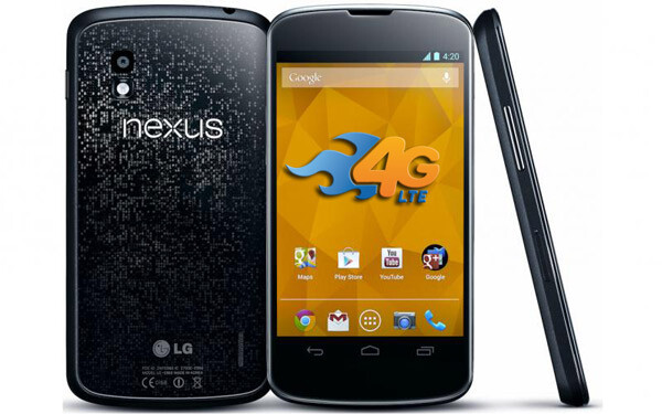 Nexus 4 LTE available in some AT&T markets
