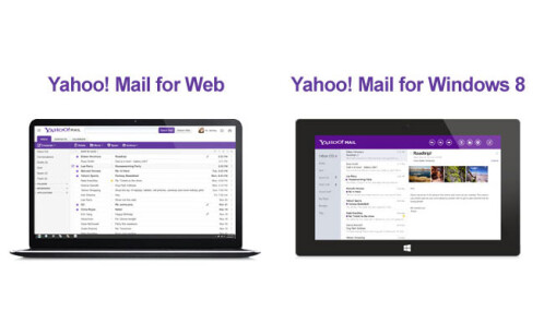 New Yahoo Mail for desktop and tablets