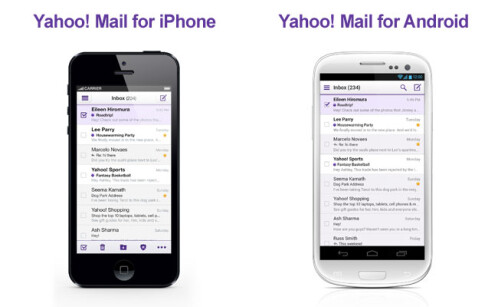 Yahoo messed up with Photoshop adding non-existant on-screen buttons on Galaxy S III