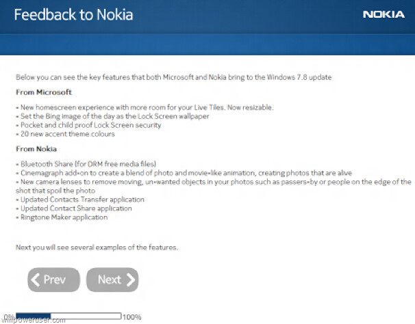 This alleged Nokia feedback survey gives us more information about Windows Phone 7.5 - Nokia survey hints at Windows Phone 7.8 features