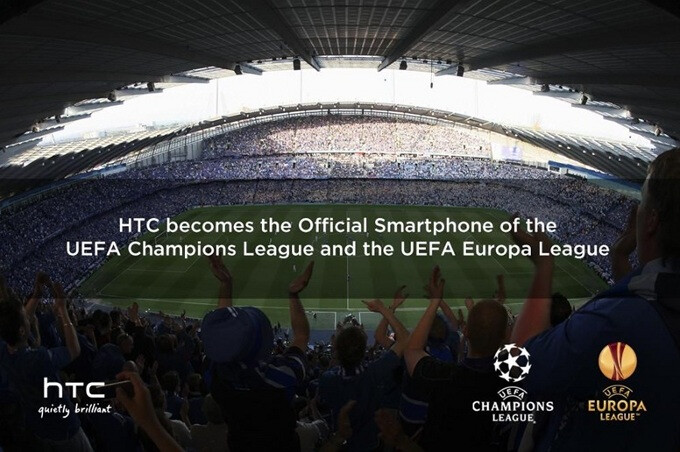 Love soccer? Love phones? HTC becomes exclusive partner of the UEFA Champions and Europa Leagues