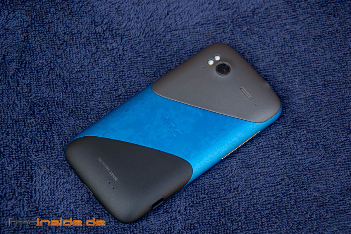 HTC Sensation Blue Fire mod