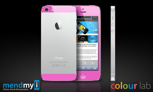 Dip your iPhone 5 in pink paint