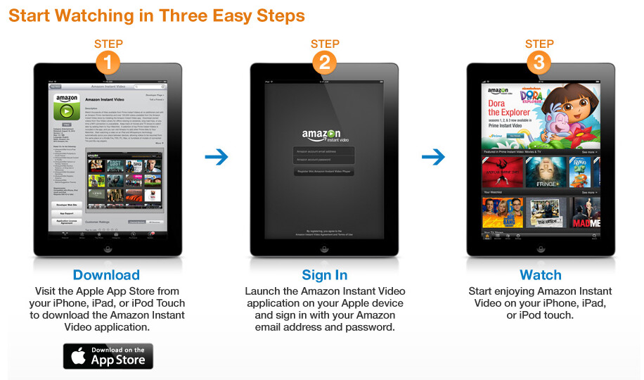 How to use the new Amazon Instant Video app for iOS - Amazon Instant Video app now available for all iOS devices