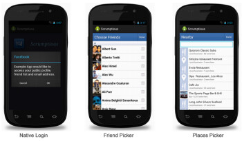 Facebook also releases Android SDK 3.0