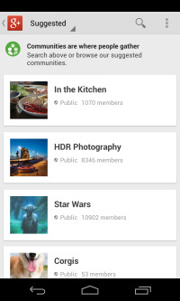 android-communities-suggest