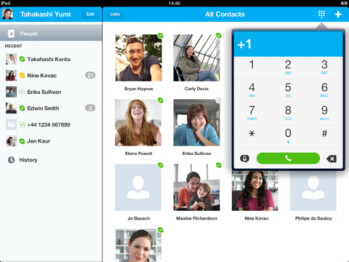 Skype was the top free app for the Apple iPad