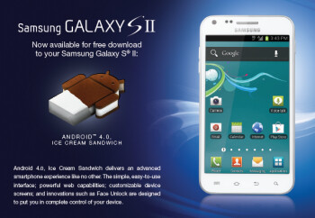The U.S.Cellular version of the Samsung Galaxy S II is getting Android 4.0.4