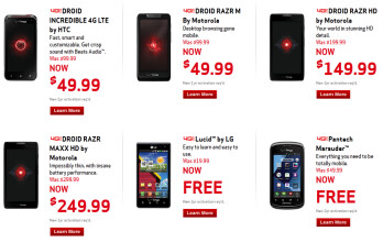 Holiday sales at Verizon