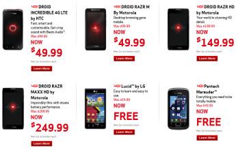 Holiday sales at Verizon
