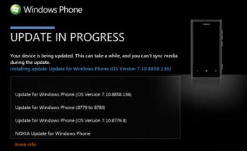 Windows Phone 7.8 has arrived for the Nokia Lumia 800 via Zune
