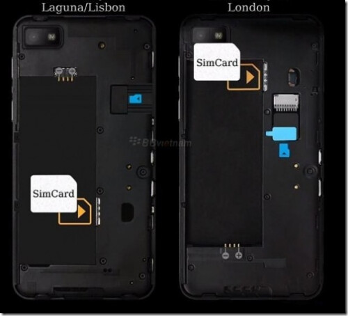 Pictures of the BlackBerry 10 L-Series