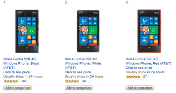 Amazon has a deal on the AT&T Nokia Lumia 920