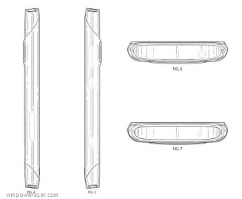 Hardly a mystery, the design patent is for the Nokia 801T