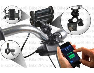 SpinPOWER S1-R Touring Edition Bicycle USB Charger Kit ($84.95)